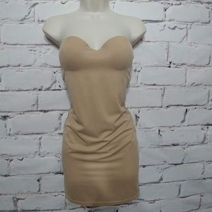 Victoria's Secret Nude Body Shaper Shapewear 34C